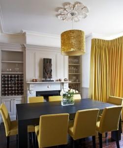 Дизайн в золотом цвете
