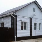 Дом с металлосайдингом