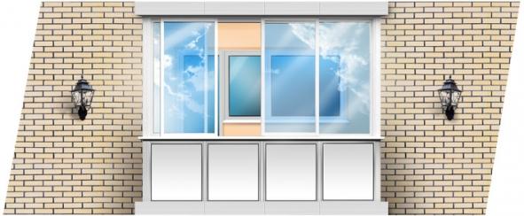 Достоинства и недостатки остекления балконов и лоджий