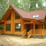 Качественный деревянный дом из бруса