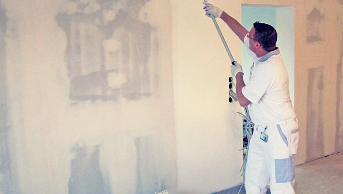 Как подготовить гипсокартонные стены под отделку жидкими обоями