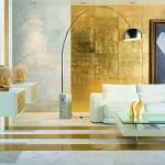 Как практично использовать золотой в интерьере