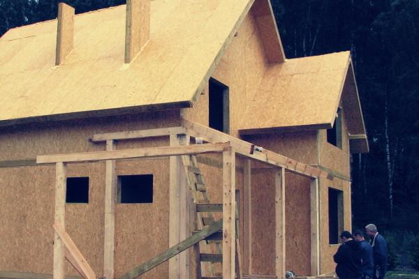 Как строится мансарда из сип панелей