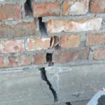 Как убрать трещины в фундаменте