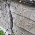 Какие есть трещины на фундаменте