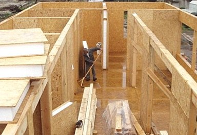 Каркасно-панельное строительство