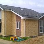Красивый дом из СИП панелей