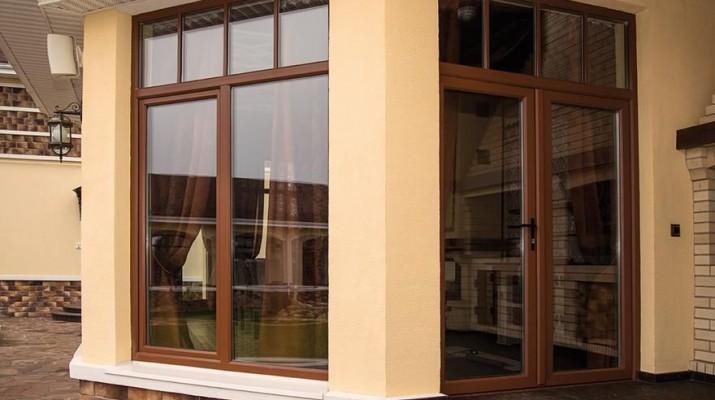 Ламинированные пластиковые окна и двери