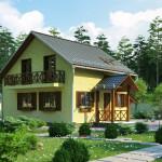 Материалы для возведения загородного дома
