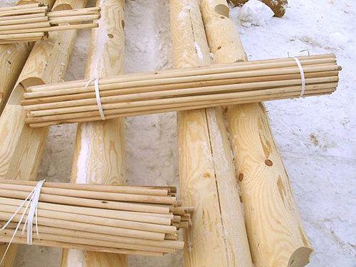 Нагели – специальный крепеж для деревянного строительства