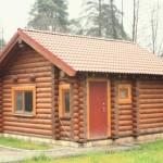 Небольшая классическая русская баня