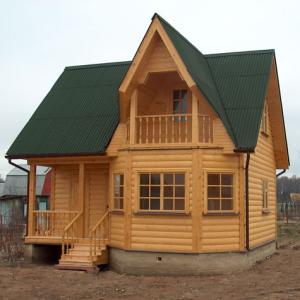 Особенности постройки из бруса