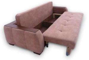 Особенности работы дивана-еврокнижки