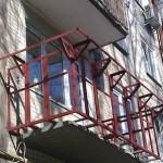 Остекление и вынос балкона