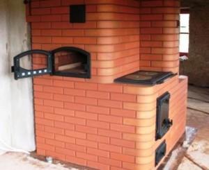 Отопитльная варочная печь для дачи