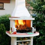 Печь-барбекю для дачи