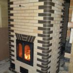 Печь для отопления частного дома из кирпича