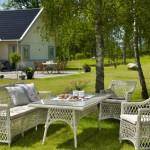 Плетеная садовая мебель и её преимущества