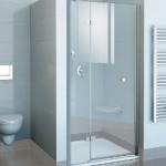 Практичные душевые двери для ванной