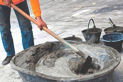 Правильное соотношение песка и цемента при строительстве