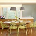Преимущества пластиковых стульев для кухни