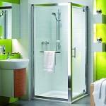 Привлекательный дизайн душевых дверей