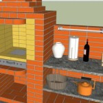Проект печь-барбекю