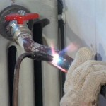 Работы с газовой сваркой