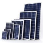 Размеры солнечной панели