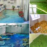 Разнообразие наливных полов для дома