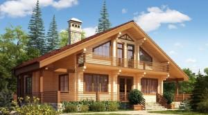 Шикарный дом из качественного бруса