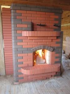 Современная печь для дома