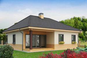 Современный дом из СИП панелей