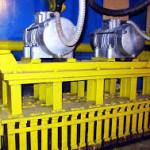 Современный вибропресс для изготовления бетонных изделий