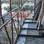 Создание выноса балкона