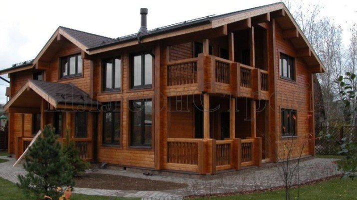 Строительство деревянных дачных домов