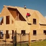 Строительство дома из ОСБ плит