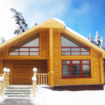 Строительство домов из бруса зимой выгодно и безопасно