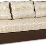 Светлый диван-еврокнижка