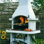 Удобная печь-барбекю