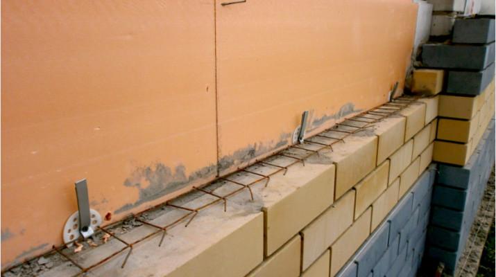 Утепление стен при облицовке кирпичом