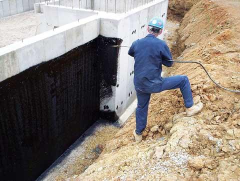 Виды гидроизоляции фундамента