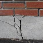 Виды трещин в бетонном фундаменте