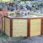 Бассейн из дерева своими руками: два способа изготовления