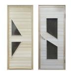 Дизайн двери из липы