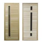 двери из липы для бани и их особенности