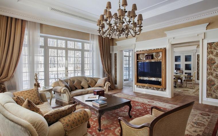 Дизайн окна в классическом стиле