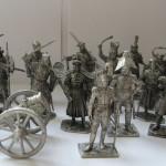 Красивые оловянные солдатики