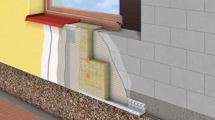 Материал для утепления фасада