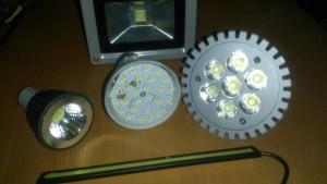 Особенности применения светодиодного освещения